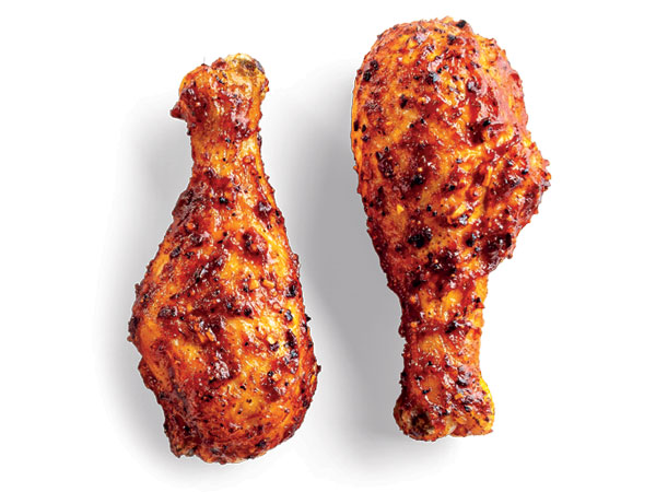 Spicy Barbeque Chicken Drumsticks Hy Vee