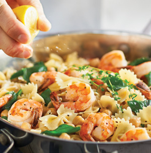 Greek recipes using pasta and shrimp